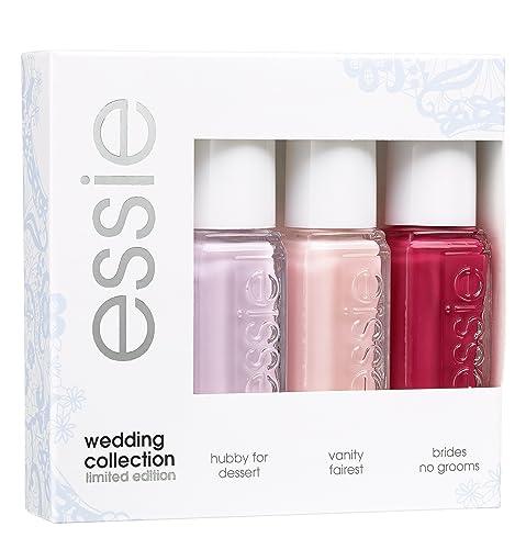 Essie Nail Polish Mini Kit Wedding Collection 3x5 Millileter