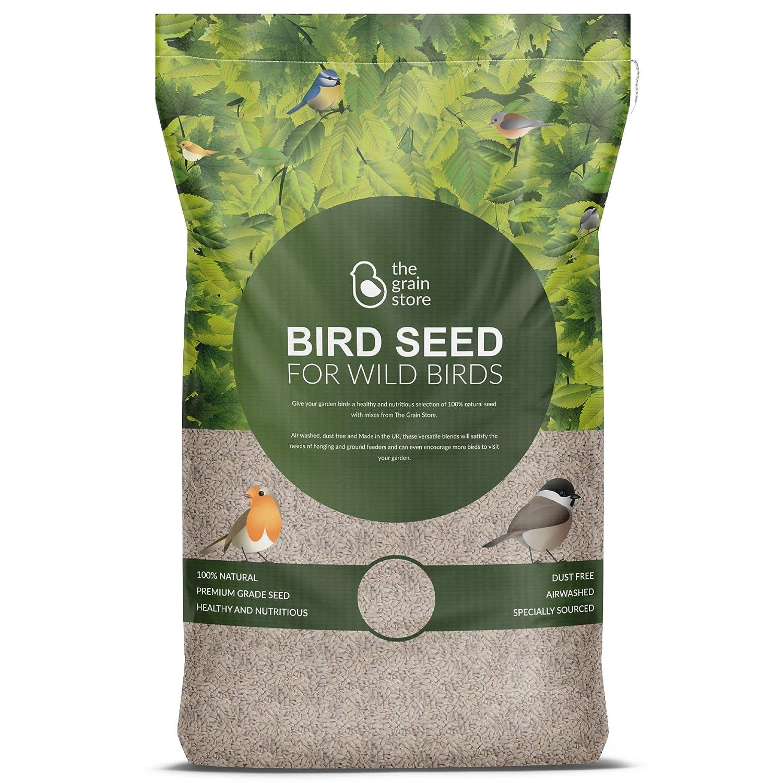 The Grain Store Bird Food Sunflower Hearts Bulk 12.75KG Husk Free