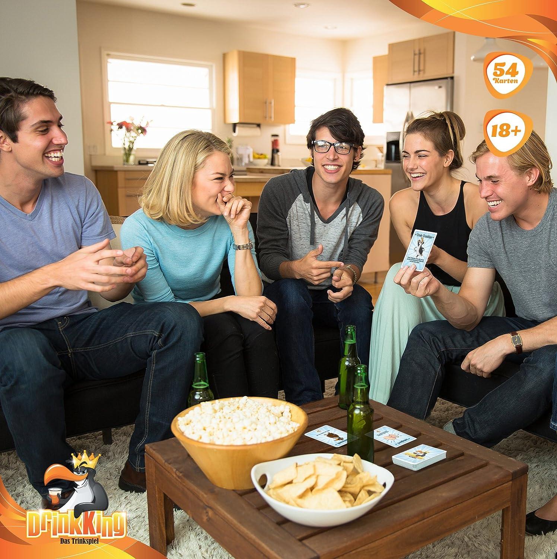 Drinkking Das Trinkspiel Ab 18 Ein Partyspiel Fur Erwachsene