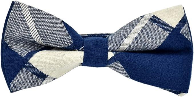 EOZY Corbatas de Hombre Tela de Cuadros para Cóctel Casual 12×6CM ...