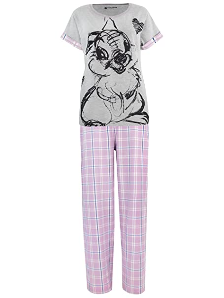 Disney - Pijama para mujer - Bambi Tambor - Small