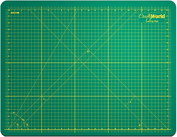 A4 Self Healing Cutting Mat Model Gridded /& Ruled Dual-Sided Cutting Mat for Arts Crafts /& Drafting 11.81 Inch x 8.66 Inch Green