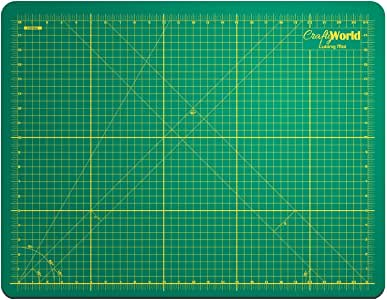 Cutting Mat for Sewing & Crafts - 18x24inches, Sturdy Rotary Cutting Mat w/ Self Healing, Non Slip Surface - Perfect Craft, Fabric Cutting Board for Quilting & Sewing - Large Double Sided Mats