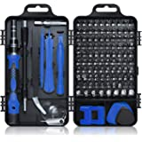 Gocheer Screwdriver Set,115 in 1 Magnetic Screwdriver Bit Set,Mini Precision Magnetic Hand Work Repairing Tools with…