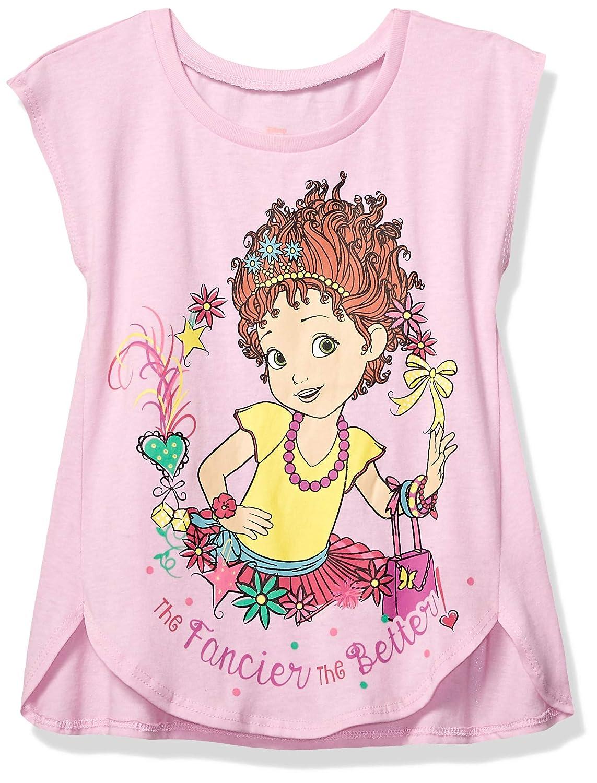f6e9d0fce Amazon.com: Disney Girls' Little Fancy Nancy Short Sleeve Graphic Tee:  Clothing