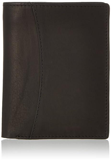 Bodenschatz - Wallet, Carteras Hombre, Schwarz (Black), 2x12x10 cm (W