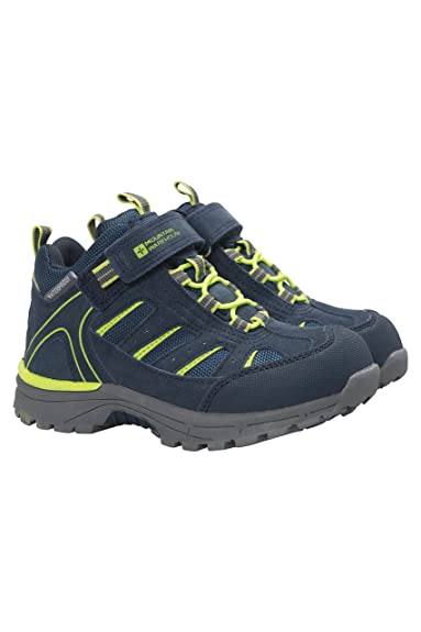 e748a4cfbad Mountain Warehouse Drift Junior Kids Boots - Waterproof Rain Boots, Durable  Walking Shoes, Breathable Childrens Hiking Boots, Good Grip Footwear – ...