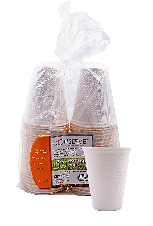 Conservar caliente taza 12 oz. 50 unidades Off Blanco (10312 ...