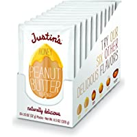10-Pack Honey Gluten-free Peanut Butter Squeeze Packs by Justin's Nut Butter