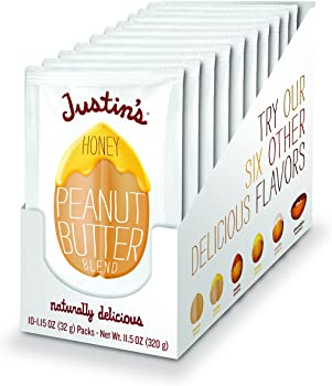 10-Pack Honey Peanut Butter Squeeze Packs by Justin's Nut Butter