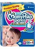 Mamy Poko Pants Extra Absorb Bonus Pack Medium (56 + 4 Count)