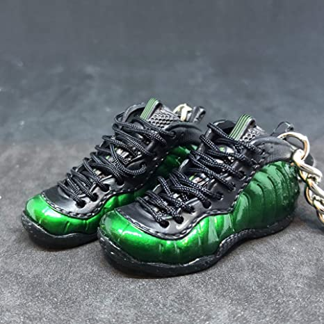 quality design 90313 377fb Amazon.com : Pair Air Foamposite One Pro Shine Green Pine ...