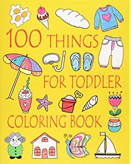 Simple Coloring Book For Kids Coloring Book For Preschoolers Toddlers Design Co Cardien 9781720229551 Amazon Com Books