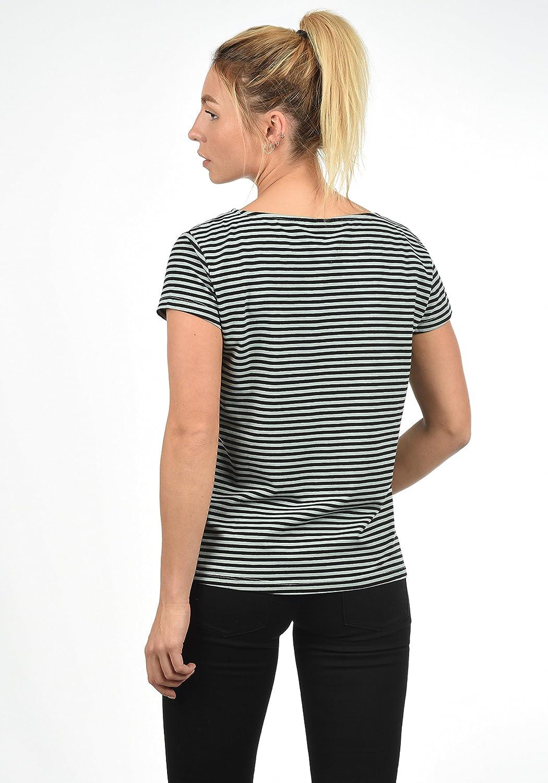 b8ad7cd27bdf01 ONLY AVA Damen T-Shirt Kurzarm Streifenshirt Shirt Mit Rundhalsausschnitt:  Amazon.de: Bekleidung