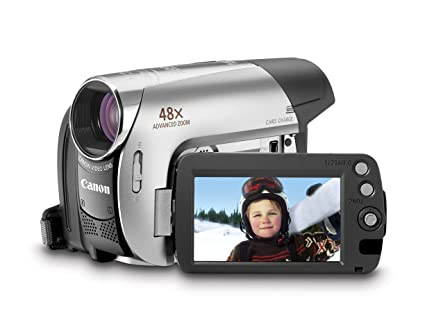 amazon com canon zr950 1 07mp minidv camcorder with 37x optical rh amazon com