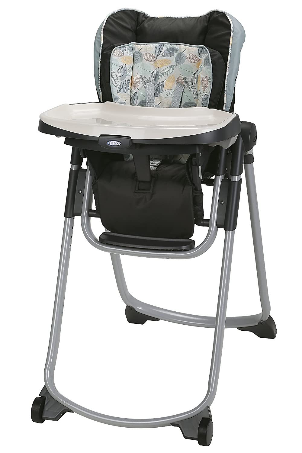 Amazon.com: Graco Slim espacios – Silla alta plegable, Trail ...