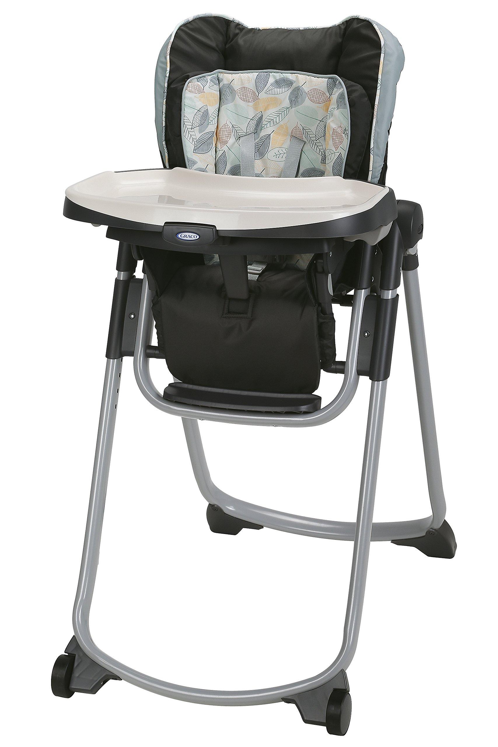 Graco Slim Spaces Folding High Chair, Trail