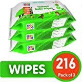 Bey Bee Cucumber and Aloe Vera Baby Wet Wipes Combo Offer (72 Wipes, Pack of 3)