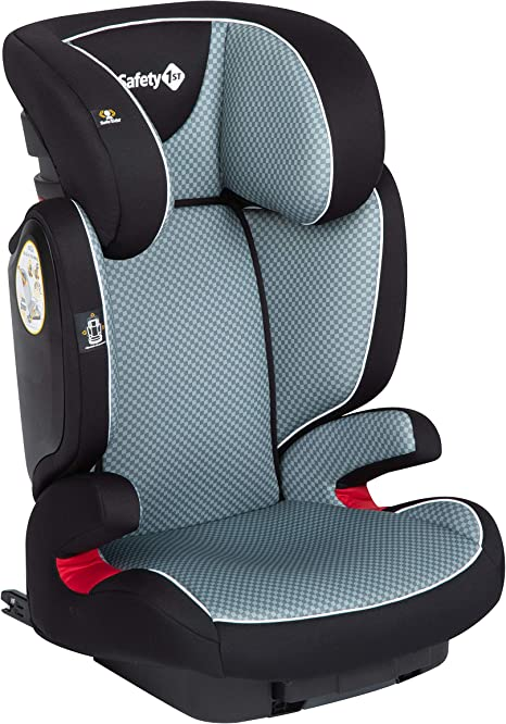 Safety 1st Road Fix Silla Coche Grupo 2 3 Isofix, crece con el niño 3-12 años (15-36 kg), Protección lateral segura, Ajuste fácil y seguro, color Pixel Grey: Amazon.es: Bebé