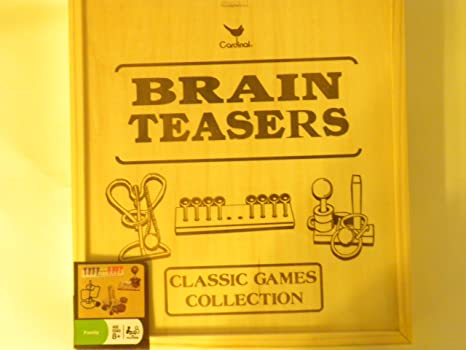 Amazon Brain Teasers Classic Games Collection Toys Games
