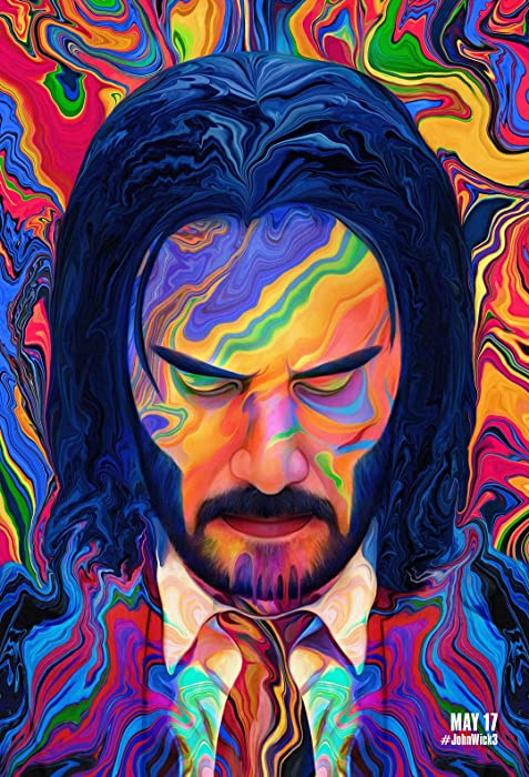 John Wick 3 Parabellum Rare Keanu Reeves Artist Movie Poster 24 x 36 Inches Full Sized Print Unframed Ready for Display