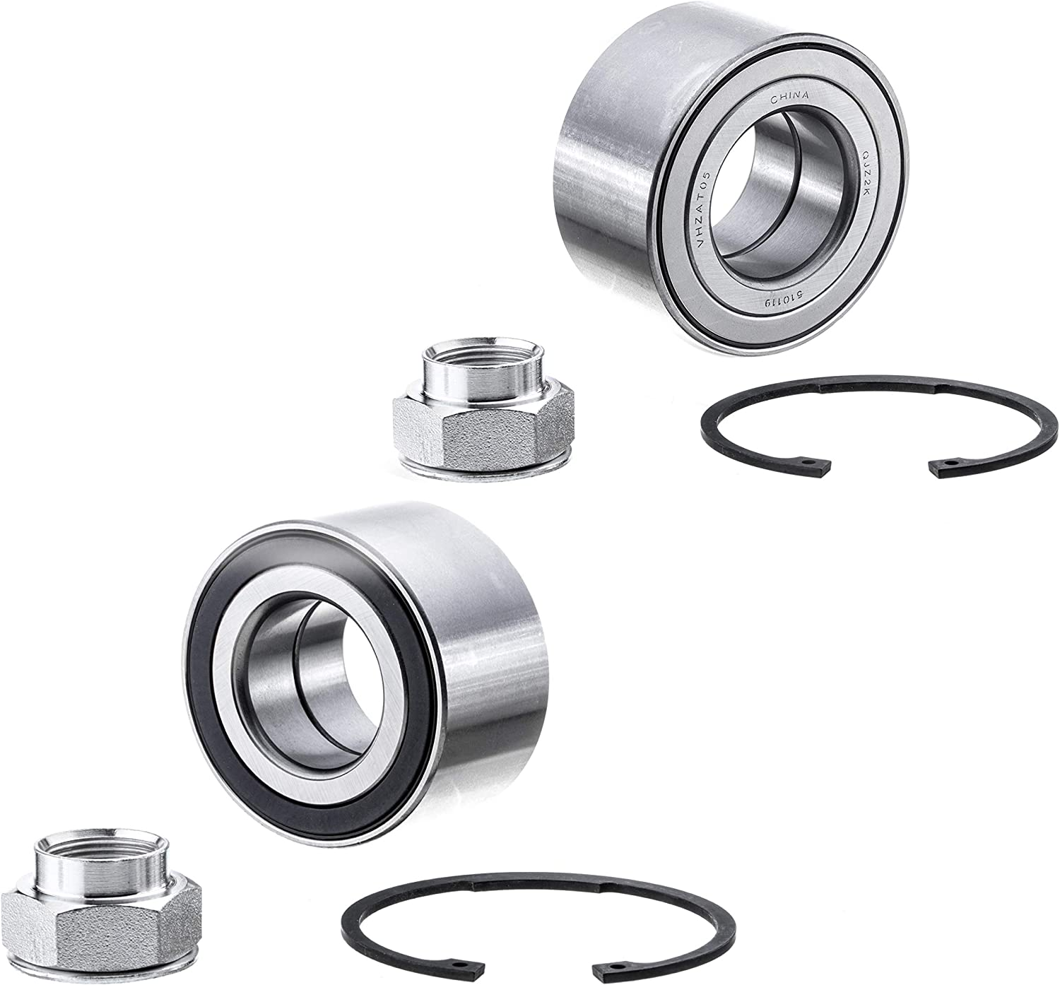 Chevrolet 2012-2018 Sonic 2-Pack//Pair 2014-2016 Spark EV 2013-2018 Trax 510119K FRONT PAIR Wheel Hub Bearing Kit for 2013-2018 Buick Encore Cross Reference: WB000054 // WE61646 // FW219