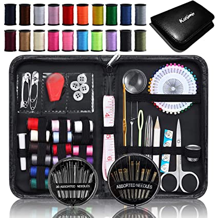661a7f6eae Kit Costura Kasimir Profesional 121 Costura Accesorios Tijeras Cinta  Metrica Hilos Lupa Botones etc Mejores Kit
