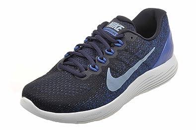 Nike Mens Lunarglide 9 Running Shoes, Dark Obsidian Blue Size 8.5 US