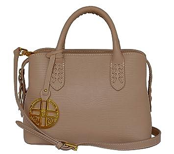 de33f74fbd828 SILVIO TOSSI Damen Leder Handtasche Schultertasche Beige Modell 12714-03