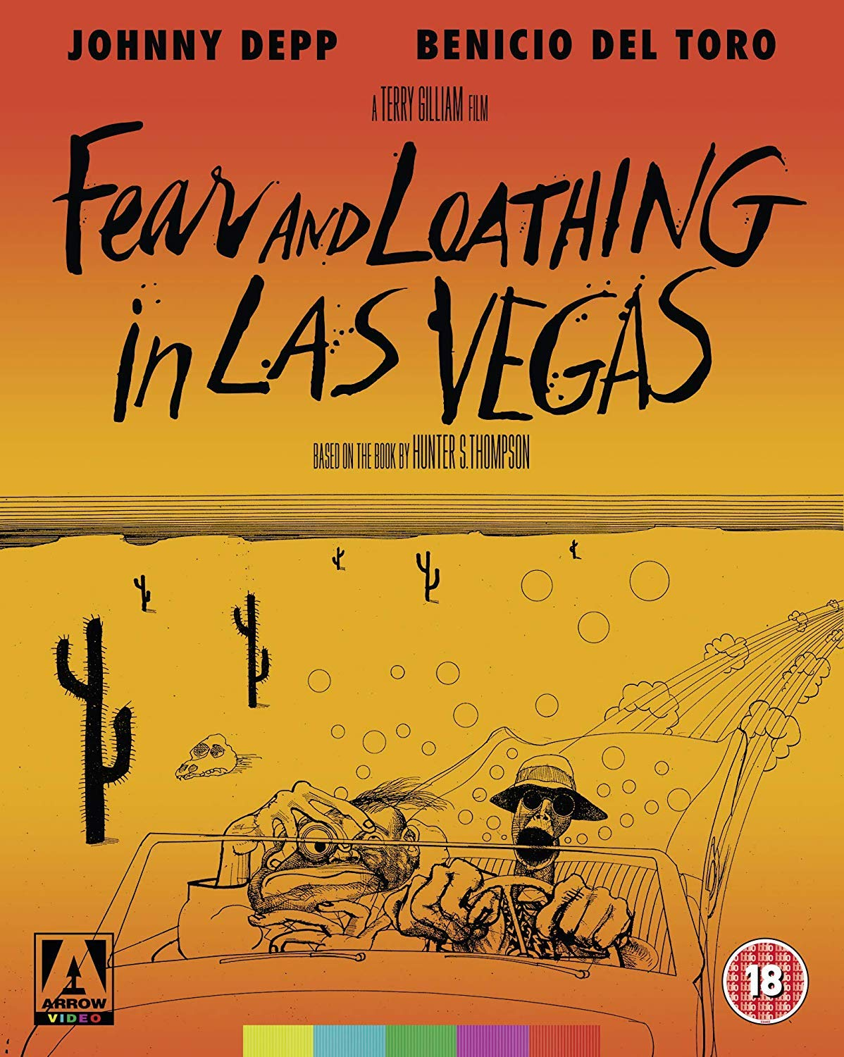 Fear And Loathing In Las Vegas - Cover