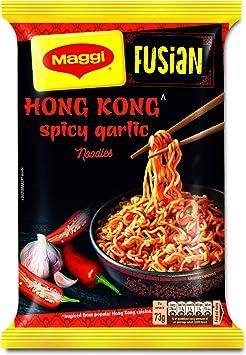 MAGGI Fusian Hong Kong Spicy Garlic Noodles - 73g Pouch