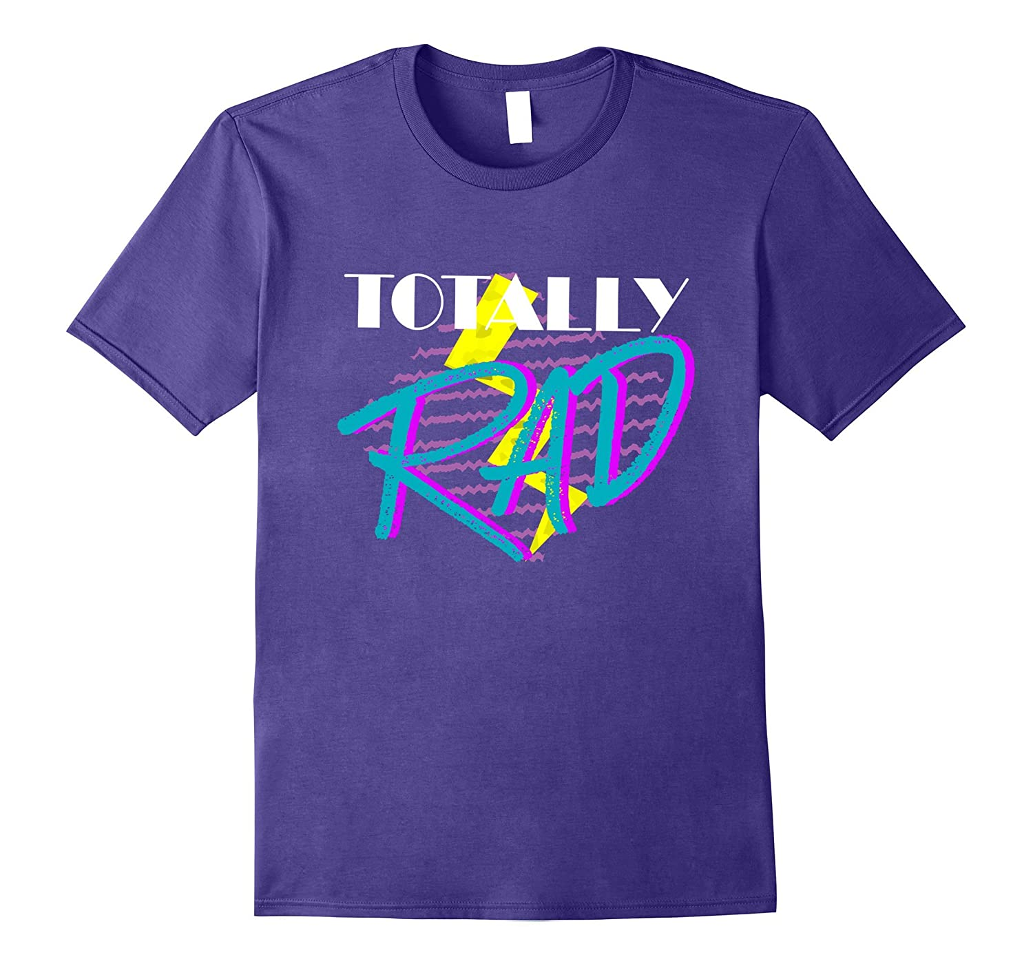 Totally Rad 1980s vintage style costume party t-shirt-T-Shirt