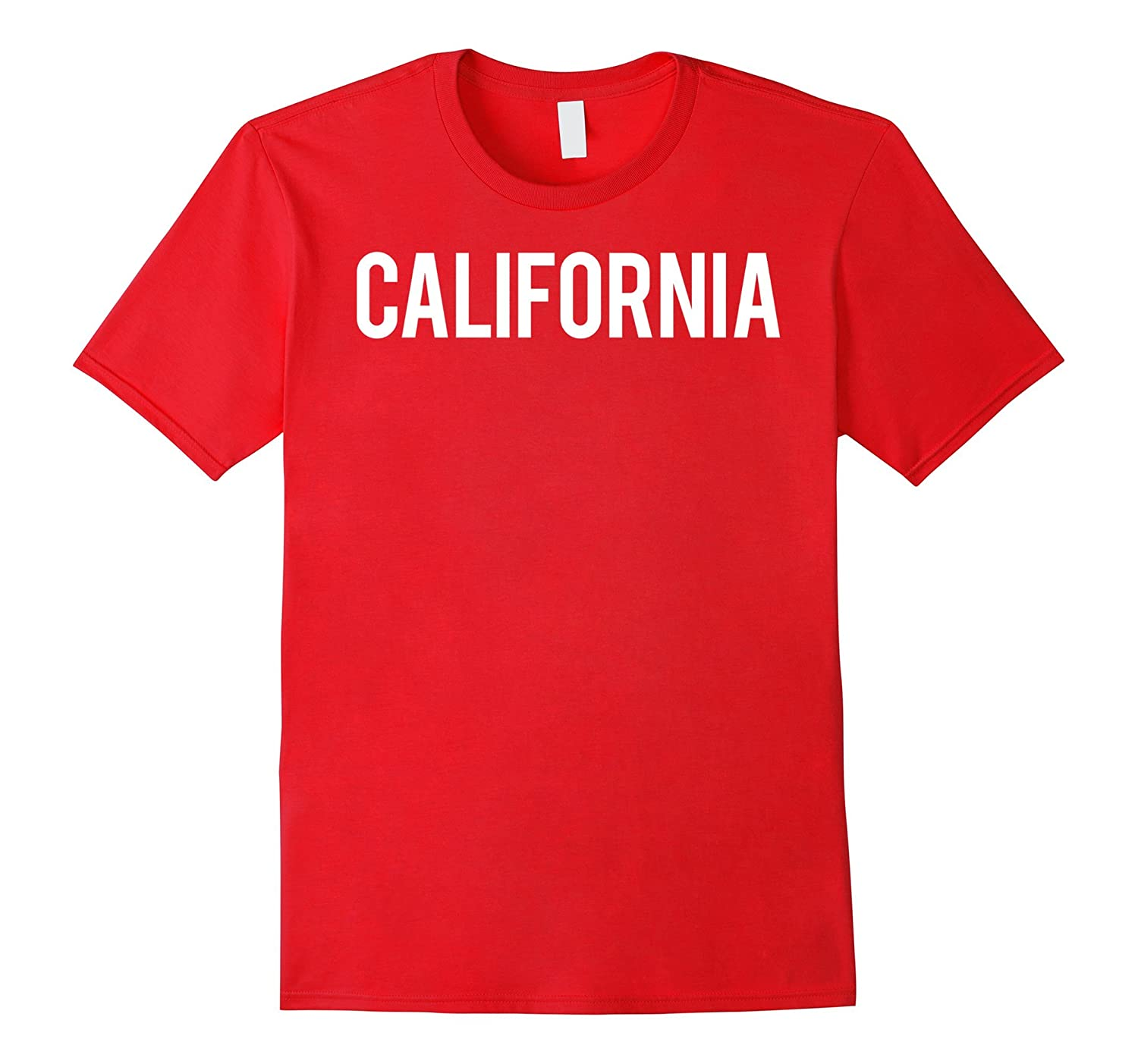California T Shirt - Cool CA state fan funny cheap gift tee-CD