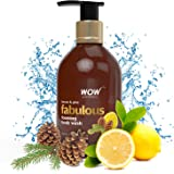 WOW Fabulous Foaming Body Wash - Lemon & Pine