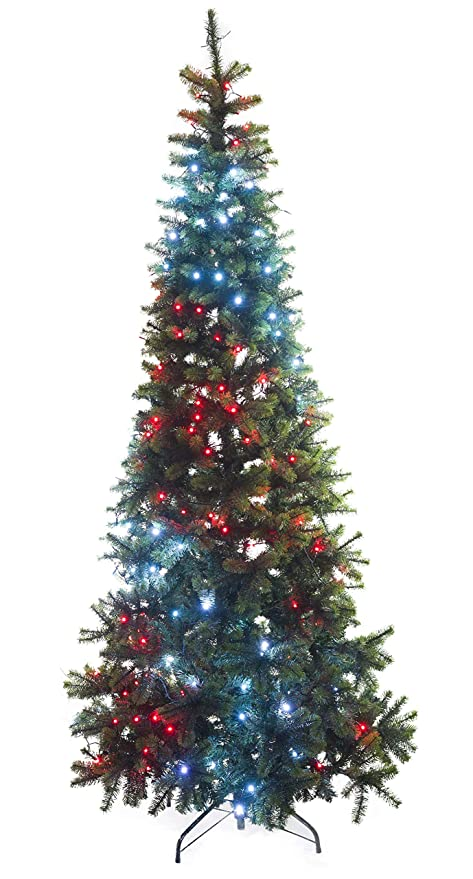 new product 94f6b 05363 Amazon.com: Twinkly Pre-lit Christmas Tree, Artificial Tree ...