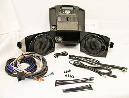 Drive Unlimited s Polaris Ranger Full Size In Dash Stereo Kit