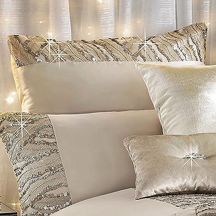 Kylie Minogue Celeste Cuadrado Funda De Almohada Ropa de cama juego de cama Art Deco Glamour