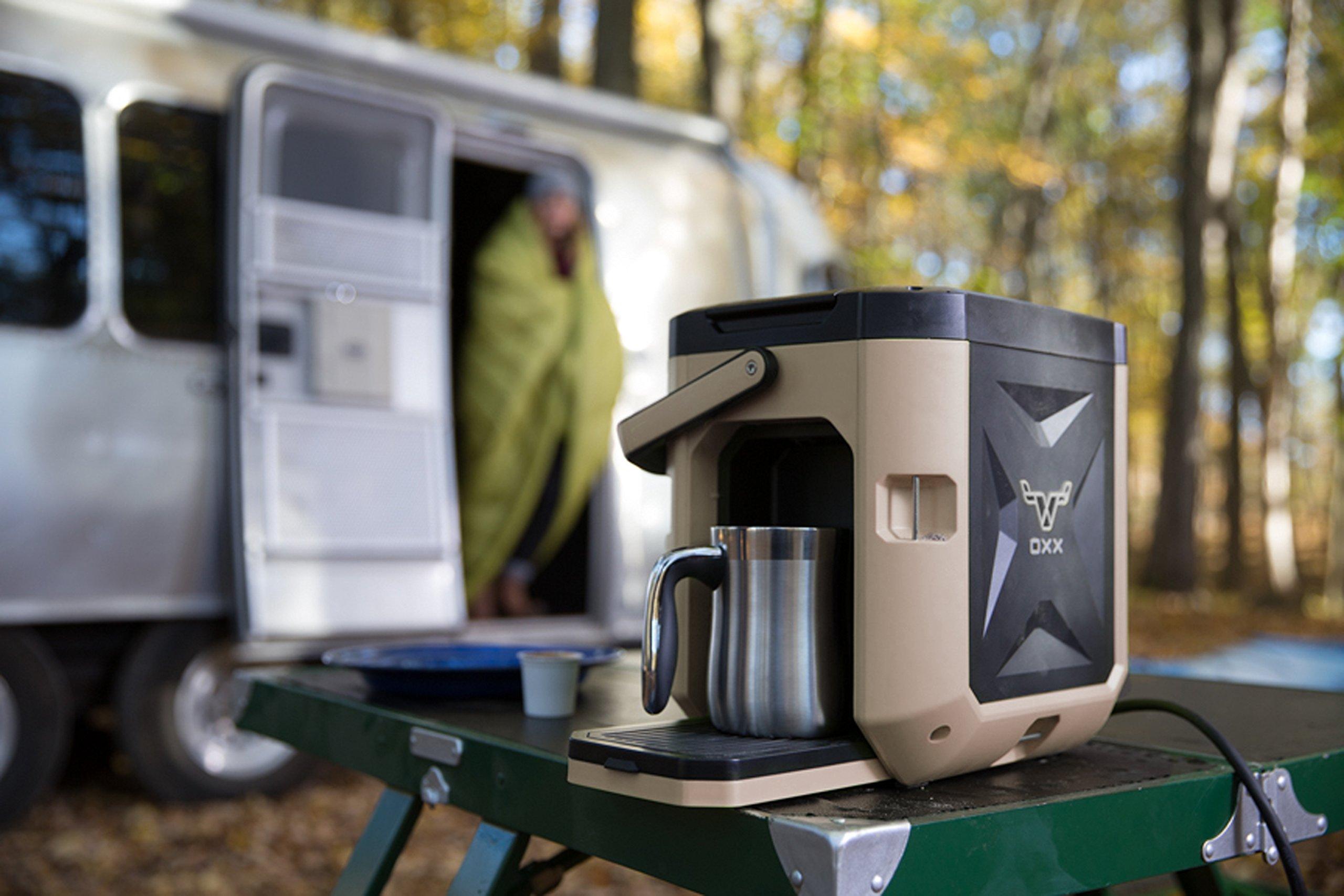 OXX COFFEEBOXX Job Site Single Serve Coffee Maker, Desert Tan by Oxx Inc (Image #6)