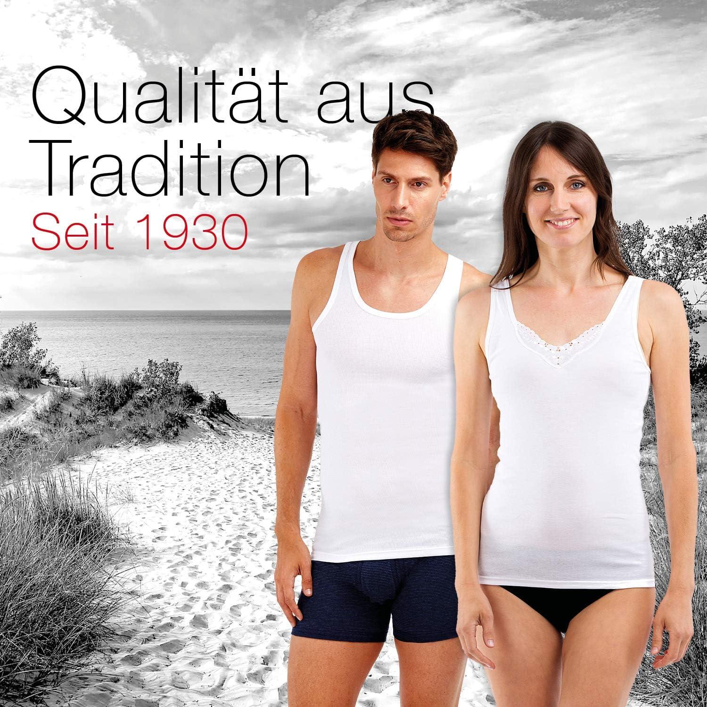 SCH/ÖLLER Damen Achselhemd I 3er Pack I Damen Unterhemd I 51010-44-500 I Gr/ö/ße 38 bis 54 I Farbe Wei/ß
