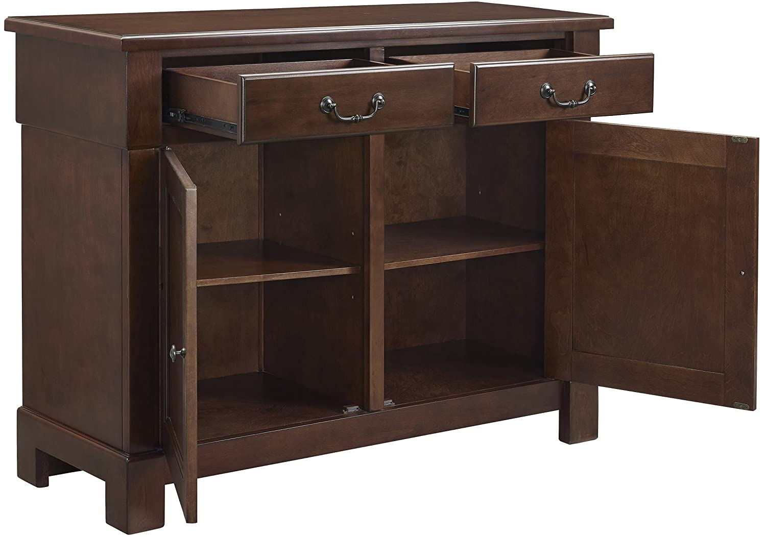 Crosley Furniture Centennial Buffet – Mahogany
