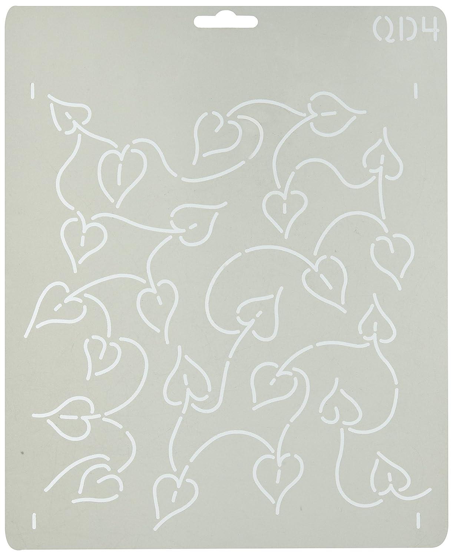 Quilting Creations QD4QC Leaf Background Quilt Stencil
