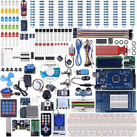 Ultimate Starter Mega 2560 Project Controller Board LCD Servo Arduino Step Motor
