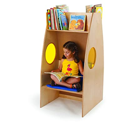 Whitney Brothers Childrens Bookshelf And Reading Nook With Bonus Stand Steady Kids Guide Great