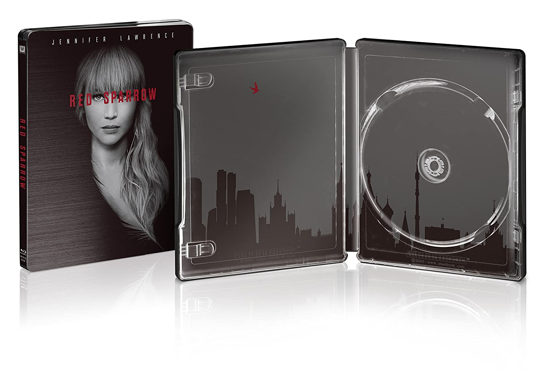 【Amazon.co.jp限定】レッドスパロー ブルーレイ版スチールブック仕様 [Blu-ray] B07D2HVFMV