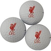 Liverpool FC 3 Pack Golf Ball Gift Set