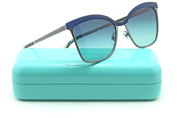 e931793f9e88 Image Unavailable. Image not available for. Color: Tiffany & Co. TF 3060  Women Square Metal Sunglasses ...