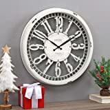 "FirsTime & Co. Whitney Wall Clock, 20"", Antique Cream"