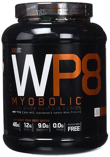 Starlabs nutrition wp8 myobolic 2.0, 908gr. proteína de alta calidad