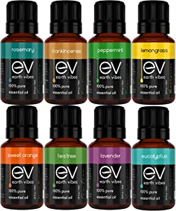 Free Earth Vibes Essential Oils Set Top 8 Essential…