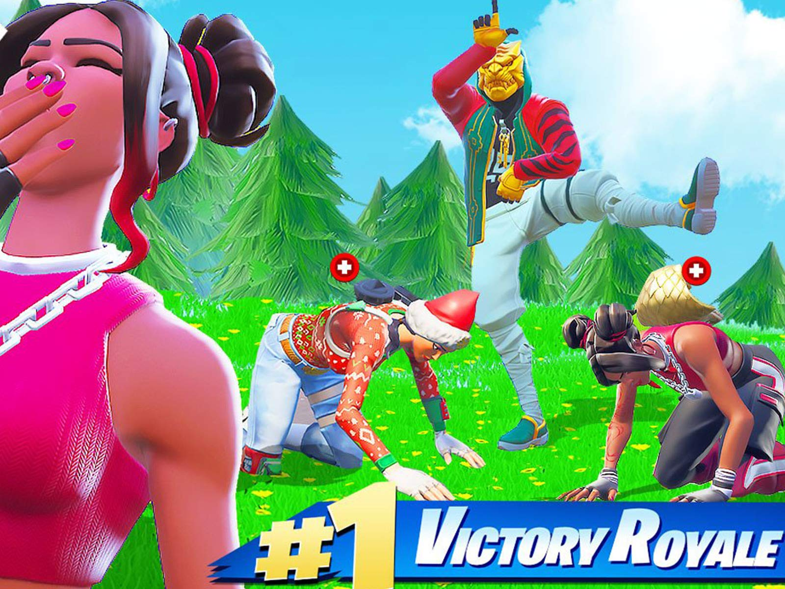 Watch Clip Fortnite Battle Royale Funny Moments Sigils 1 Victory Royale Prime Video